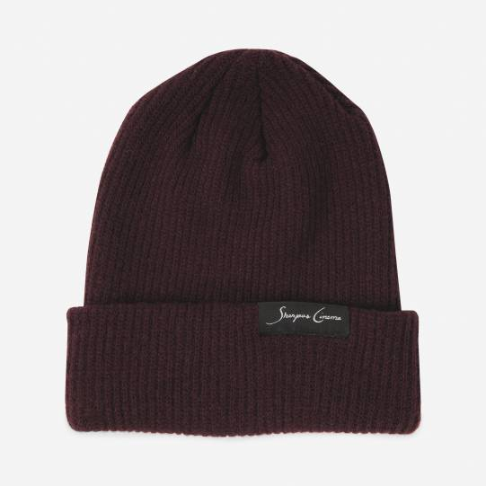 Sherpa Burgundy Recycled Cashmere Toque-0110
